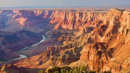 The Grand Canyon as seen from Desert View