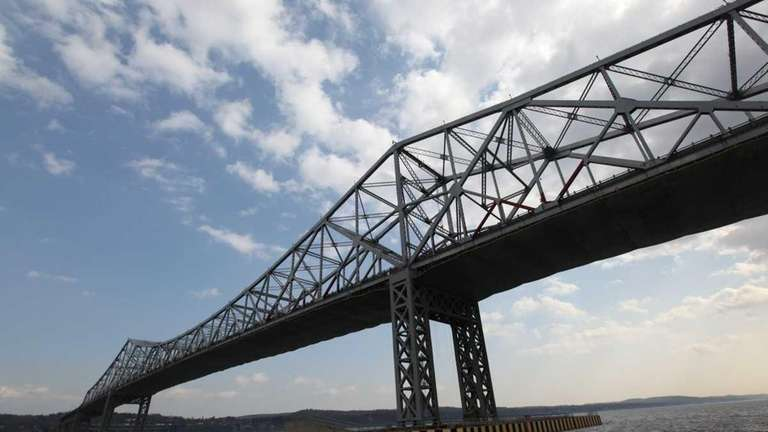 The Tappan Zee Bridge photographed on the north