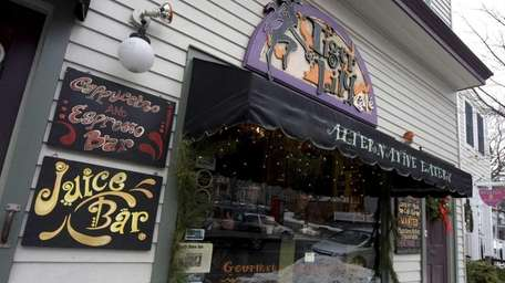 Tiger Lily Cafe, at 156 East Main Street