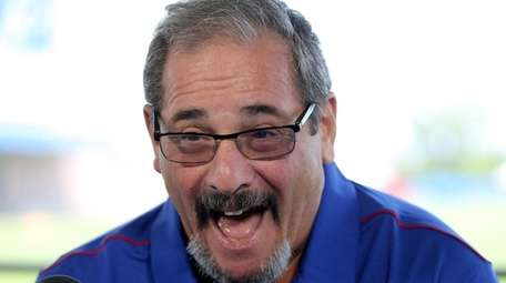 Giants general manager Dave Gettleman, shown here at