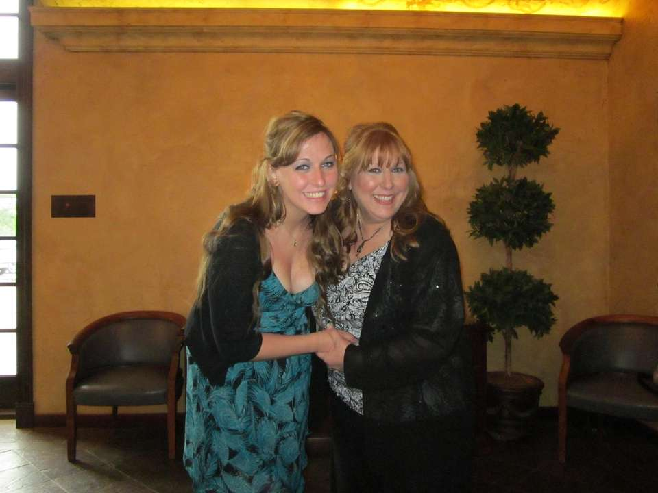 Maria and her Mom Angela at Melissa and