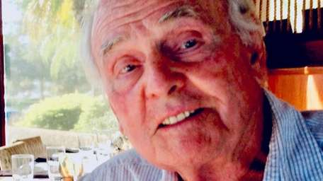 Charles Schlegel, former swim coach at Plainview-Old Bethpage