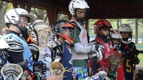 The Long Island Lizards professional lacrosse team held