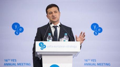 Ukrainian President Volodymyr Zelensky on Sept. 13.