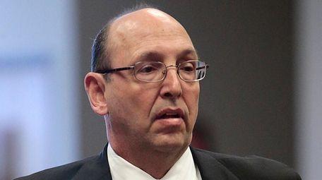 Attorney John Scarpa Jr., seen here in March