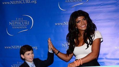 """When """"Celebrity Apprentice"""" contestant Teresa Giudice presented a"""