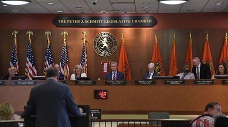 The Nassau County Legislature meets Monday night where