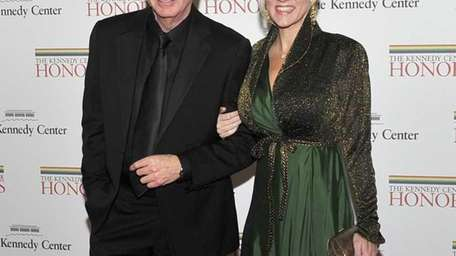 Neil Diamond and Katie McNeil arrive for the