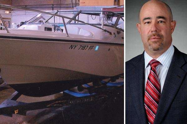 Oyster Bay reprimanded John Antetomaso for improperly storing