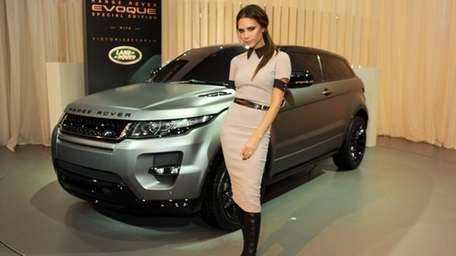Victoria Beckham at the launch of the 2012