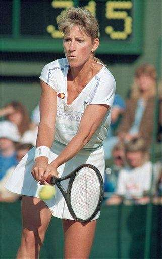 CHRIS EVERT Nov. 11, 1989 Chris Evert's monologue