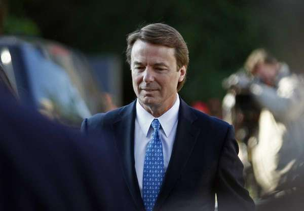 Former U.S. Sen. and presidential candidate John Edwards