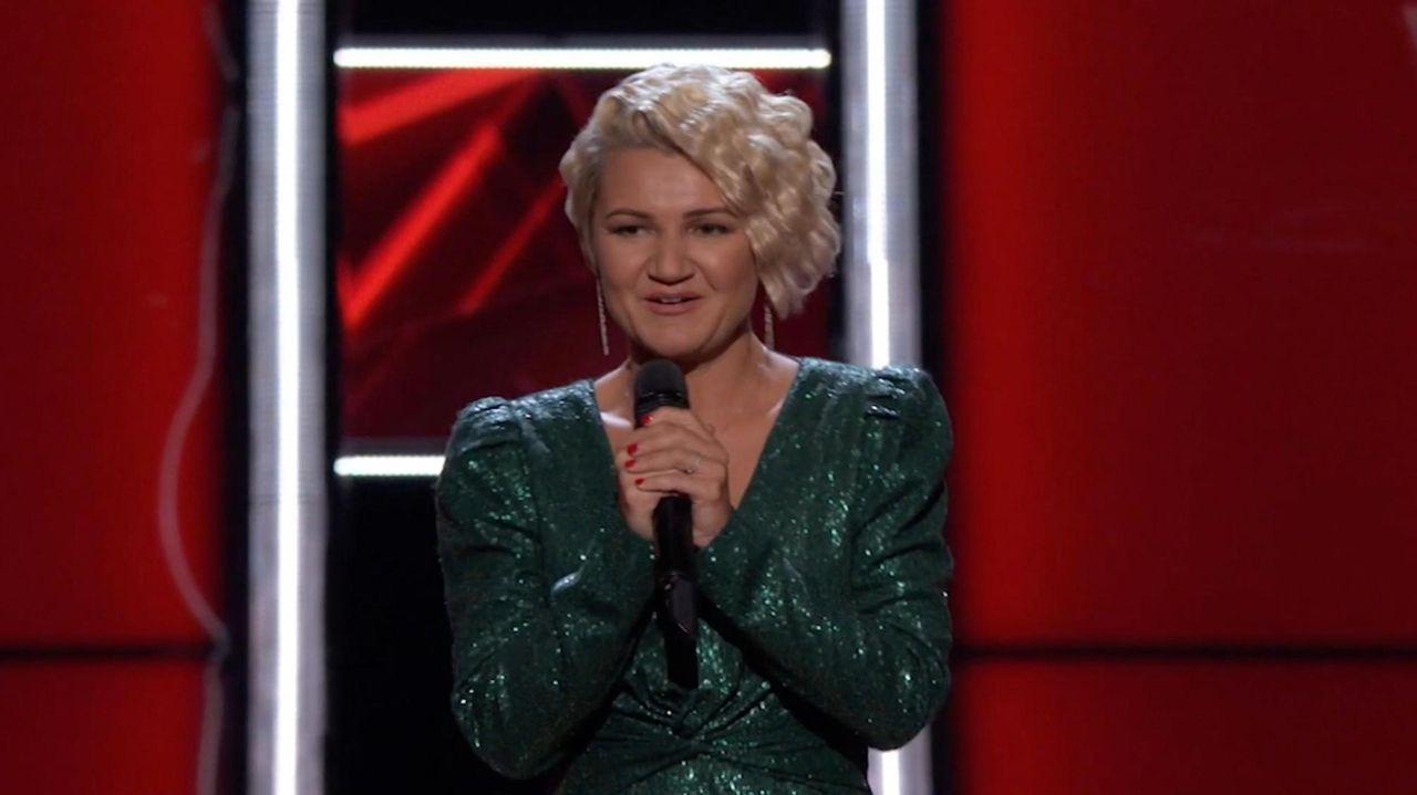 Marina Chello, of Plainview, wowed judges on NBC's