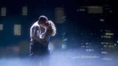 Richard Fleeshman and Caissie Levy star in