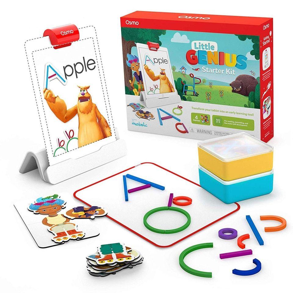 Transform an iPad into a fun interactive learning