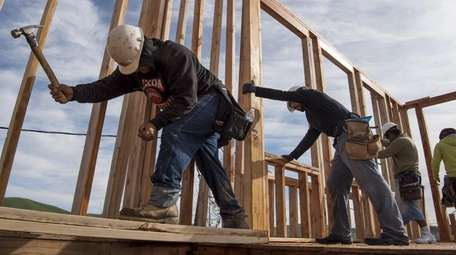 A key report on construction spending is expected