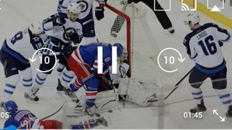The official app of the NHL serves as