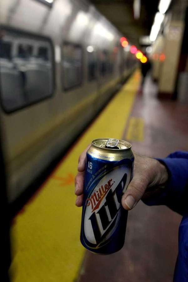 The LIRR will ban alcohol on overnight weekend