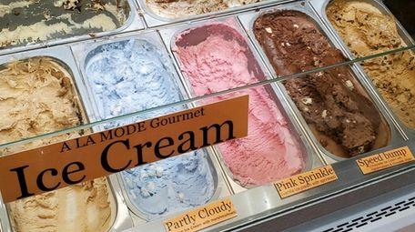SugarCrazy carries nut-free A La Mode ice cream