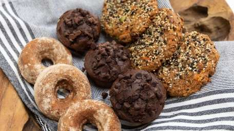 Organic Krush's entire bakery selection is gluten-free, featuring