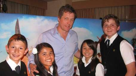 Actor Hugh Grant who stars as Pirate Captain