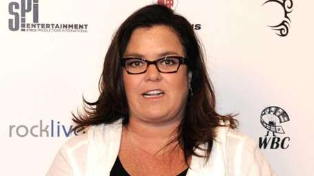 Rosie O'Donnell arrives on the red carpet for