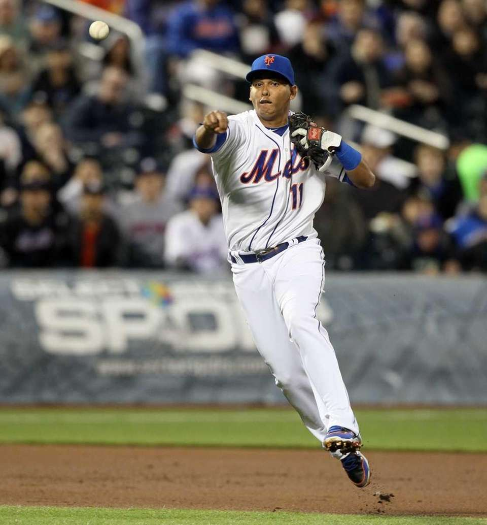 Ruben Tejada #11 of the New York Mets