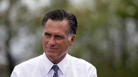 The GOP's presumptive nominee, Mitt Romney