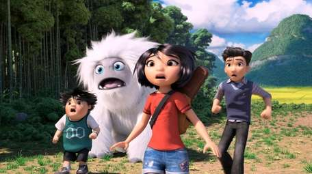 Peng, Everest the Yeti, Yi and Jin in