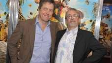 Hugh Grant and director Peter Lord attend quot;The