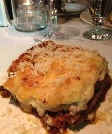 At Athens Grill in Riverhead, the moussaka is