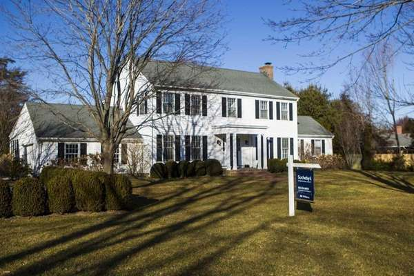 The median price of Hamptons homes rose almost