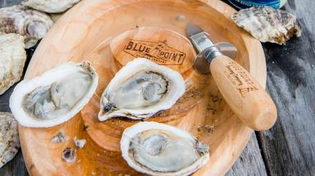 Blue Point Brewing Co.'s inaugural ''Oyster Ball'' in