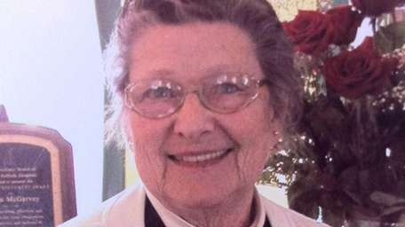 Lillian McGarvey died pancreatic cancer at age 91.