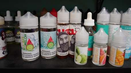 Most flavored vaping liquids have been deemed illegal