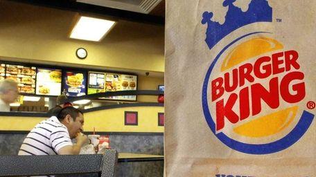 A patron at a Burger King in Springfield,