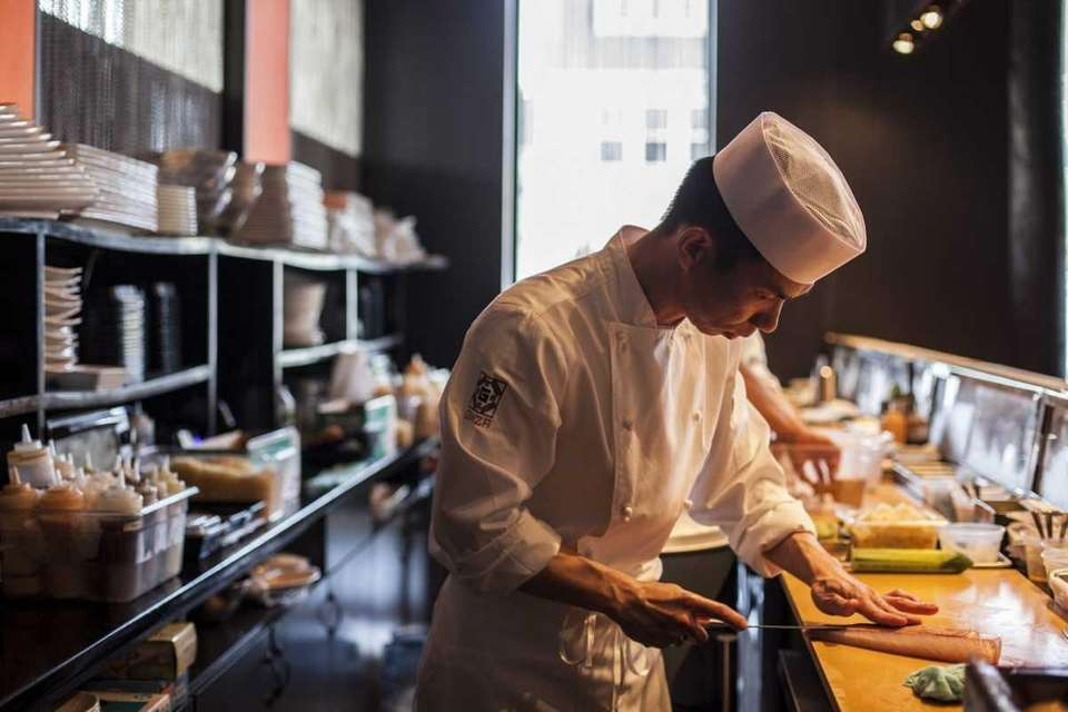 Head sushi Chef Patrick Yam of Ginza in