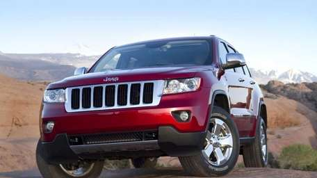 Jeeps, like this 2011 Grand Cherokee Ltd., helped