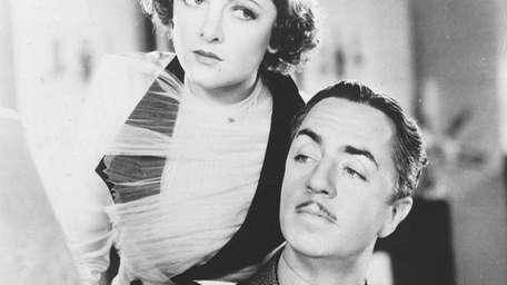 Myrna Loy and William Powell in