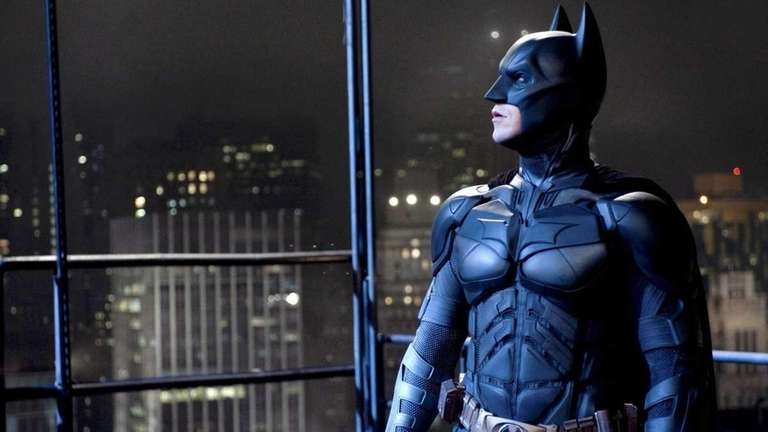 Christian Bale as Batman in Warner Bros. Pictures'
