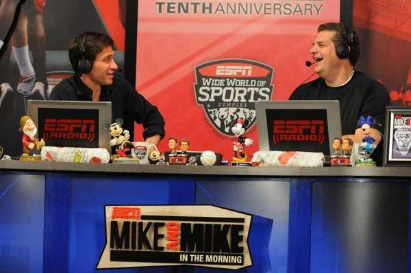 "ESPN Radio's ""Mike and Mike in the Morning"""