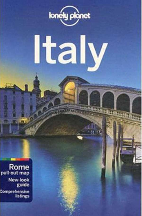 The cover of Lonely Planet's quot;Italy.quot;