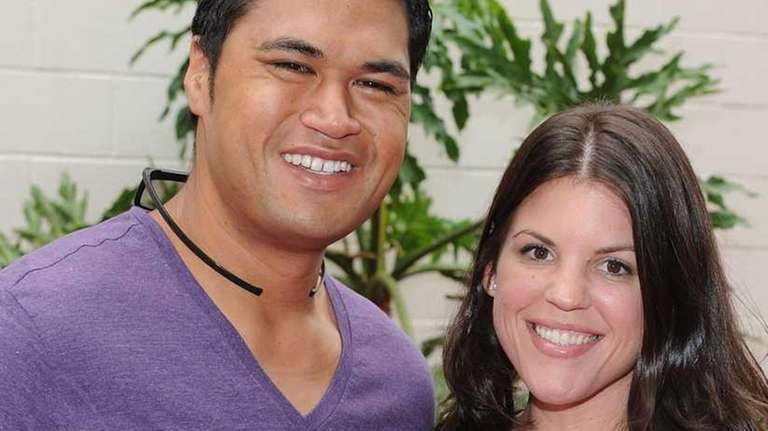 Reality Televison Personalities Sam Poueu and Stephanie Anderson