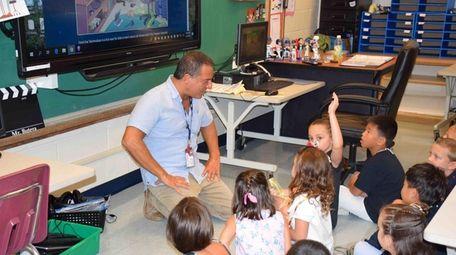 In Port Jefferson, technology teacher Anthony Butera introduced