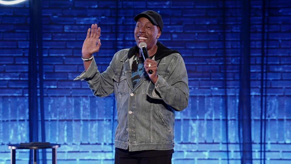 Comedian, actor and talk show host Arsenio Hall,