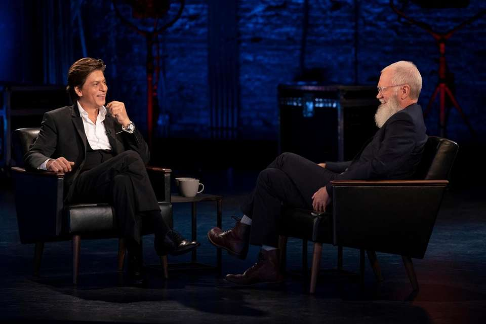 The next featured guest on David Letterman's Netflix