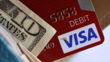 File photo of a VISA card. This week,