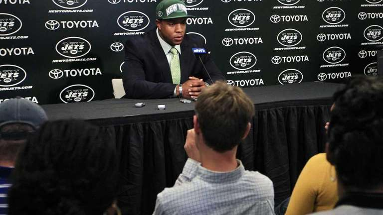 New York Jets first-round NFL football draft pick