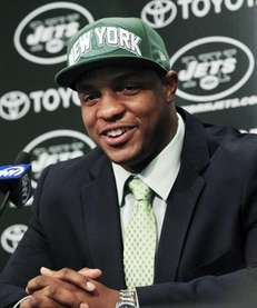 Jets first-round NFL football draft pick Quinton Coples
