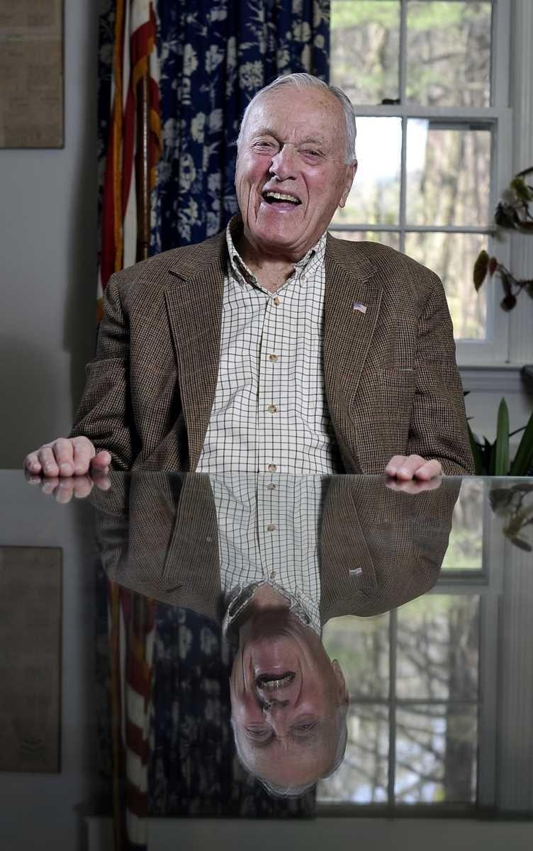 Lattingtown's Clarence Michalis, 90, has been mayor for